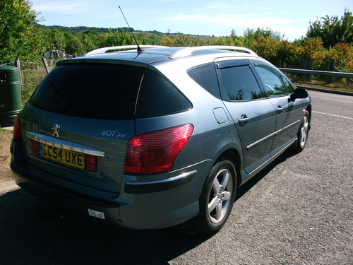 2004 54 Peugeot 407 SW SE 110 Hdi 1.6 Manual For Sale (picture 2 of 6)