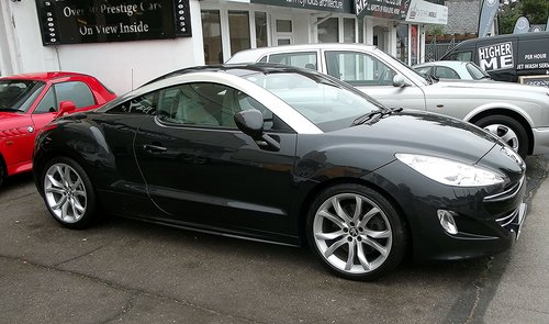 2010 PEUGEOT RCZ GT (man 6 speed) SOLD (picture 1 of 3)