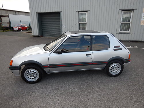 1985 PEUGEOT 205 1.6 GTi Phase One ~ Only 46423 Miles For Sale (picture 1 of 6)