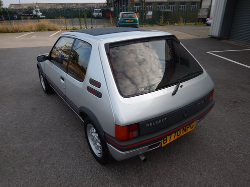 1985 PEUGEOT 205 1.6 GTi Phase One ~ Only 46423 Miles For Sale (picture 4 of 6)