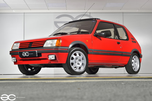 1990 A Highly Sought After 205 1.9 GTi - 29k miles - Unrestored SOLD (picture 2 of 6)