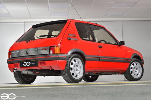1990 A Highly Sought After 205 1.9 GTi - 29k miles - Unrestored SOLD (picture 3 of 6)