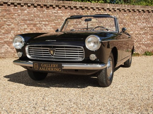 1962 Peugeot 404 Pininfarina Convertible Long term ownership! For Sale (picture 5 of 6)