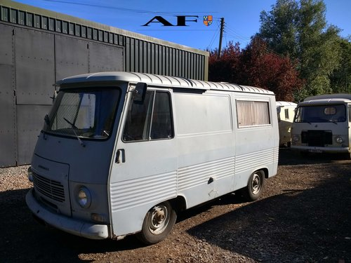 Peugeot J7 1970 Petrol for campervan dayvan foodtruck For Sale (picture 1 of 6)