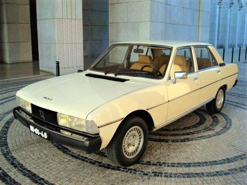 1981 Peugeot 604 SL V6 For Sale (picture 1 of 6)