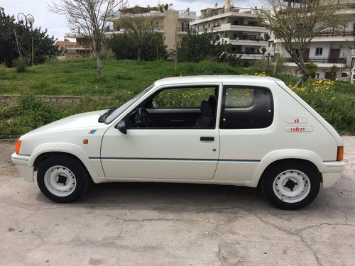 1989 peugeot 205 rallye original 1300 For Sale (picture 1 of 6)