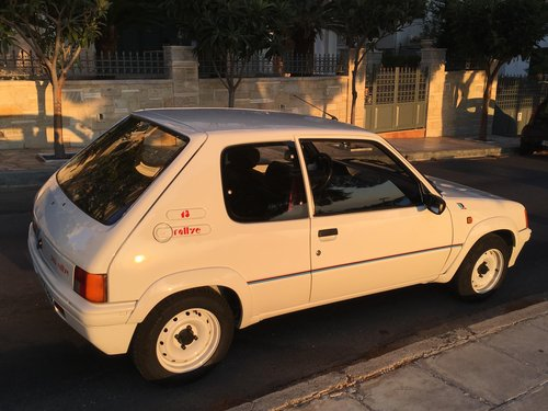1989 peugeot 205 rallye original 1300 For Sale (picture 2 of 6)
