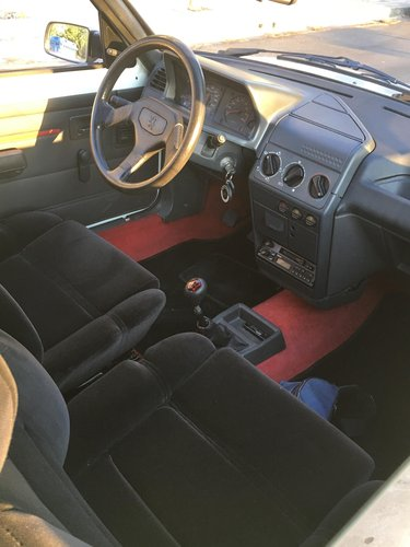 1989 peugeot 205 rallye original 1300 For Sale (picture 4 of 6)