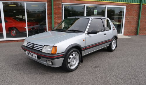 1987 Rare Peugeot 205 GTi 1.9 Phase 1 with Low Mileage SOLD (picture 1 of 6)