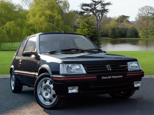 1991 (J Reg) Peugeot 205 GTi 1.9 SOLD (picture 1 of 6)