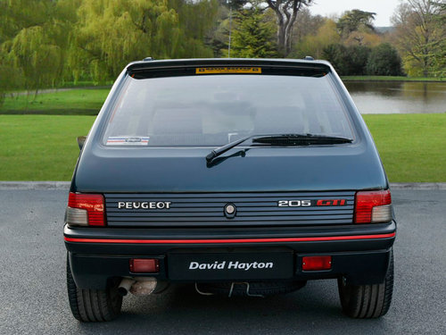 1991 (J Reg) Peugeot 205 GTi 1.9 For Sale (picture 4 of 6)