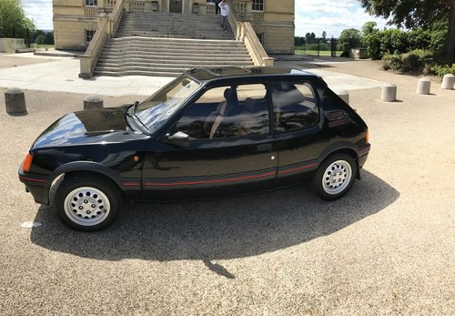 1986 Peugeot 205 Gti 1.6 39000 miles For Sale (picture 1 of 6)