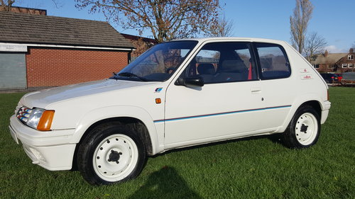 1989 Peugeot 205 Euro Rallye (GTI) SOLD (picture 1 of 6)