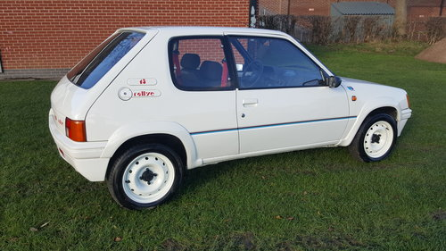 1989 Peugeot 205 Euro Rallye (GTI) SOLD (picture 2 of 6)