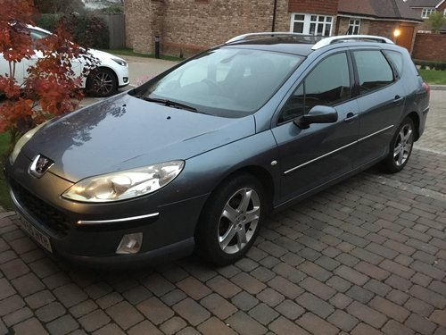 2005 Peugeot 407 SW diesel SOLD (picture 1 of 2)