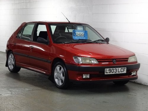 1994 Peugeot 306 2.0 XSi 5dr For Sale (picture 1 of 6)