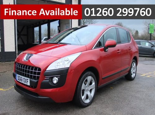2011 PEUGEOT 3008 1.6 SPORT E-HDI FAP 5DR AUTOMATIC SOLD (picture 1 of 6)