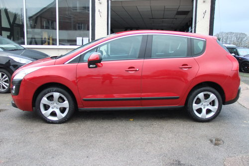 2011 PEUGEOT 3008 1.6 SPORT E-HDI FAP 5DR AUTOMATIC SOLD (picture 2 of 6)