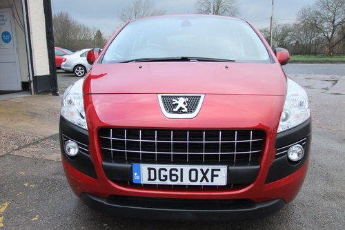 2011 PEUGEOT 3008 1.6 SPORT E-HDI FAP 5DR AUTOMATIC SOLD (picture 4 of 6)