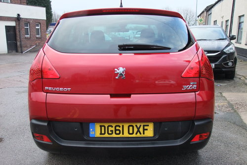 2011 PEUGEOT 3008 1.6 SPORT E-HDI FAP 5DR AUTOMATIC SOLD (picture 5 of 6)