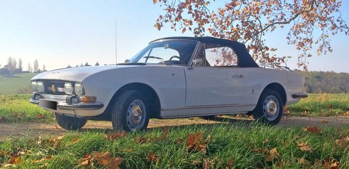 1969 Peugeot 504 Cabriolet For Sale by Auction (picture 1 of 2)
