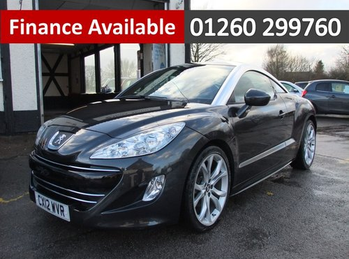 2012 PEUGEOT RCZ 1.6 THP GT 2DR SOLD (picture 1 of 6)