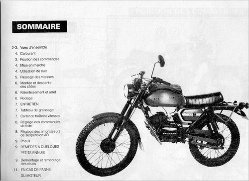 1975 PEUGEOT 80cc SX8 AR FRENCH ARMY TRIALS TRAIL BIKE VERY RARE  For Sale (picture 4 of 6)