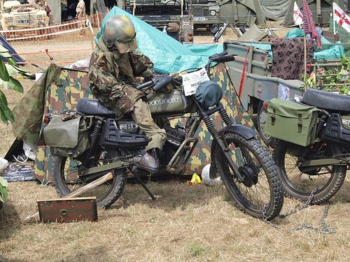 1975 PEUGEOT 80cc SX8 AR FRENCH ARMY TRIALS TRAIL BIKE VERY RARE  For Sale (picture 5 of 6)