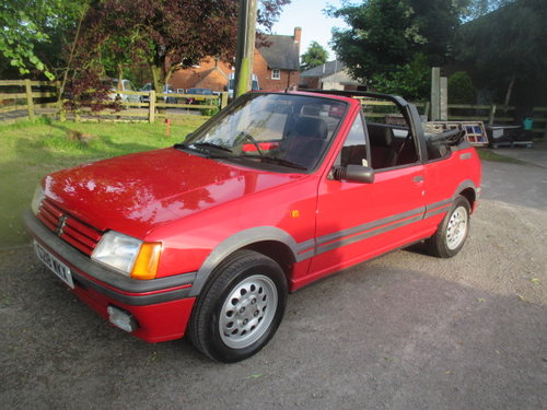 1990 Peugeot 205 1.6 CTI 32000 genuine miles lovely original car For Sale (picture 1 of 6)