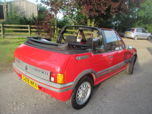 1990 Peugeot 205 1.6 CTI 32000 genuine miles lovely original car For Sale (picture 2 of 6)