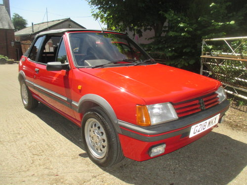 1990 Peugeot 205 1.6 CTI 32000 genuine miles lovely original car For Sale (picture 3 of 6)