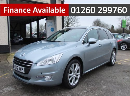 2012 PEUGEOT 508 2.0 ALLURE SW HDI 5DR AUTOMATIC SOLD (picture 1 of 6)