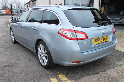 2012 PEUGEOT 508 2.0 ALLURE SW HDI 5DR AUTOMATIC SOLD (picture 3 of 6)