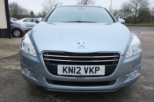 2012 PEUGEOT 508 2.0 ALLURE SW HDI 5DR AUTOMATIC SOLD (picture 4 of 6)