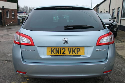 2012 PEUGEOT 508 2.0 ALLURE SW HDI 5DR AUTOMATIC SOLD (picture 5 of 6)