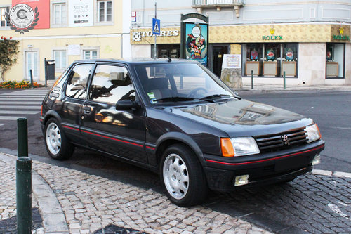 Peugeot 205 GTI 1.9 1988 SOLD (picture 4 of 6)