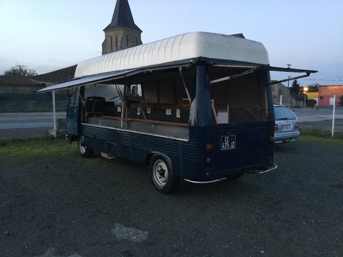 1974 Peugeot J7, for coffee van, conversion... SOLD (picture 4 of 6)