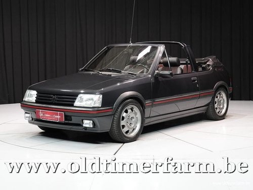 1991 Peugeot 205 CTI 1.9 '91 For Sale (picture 1 of 6)