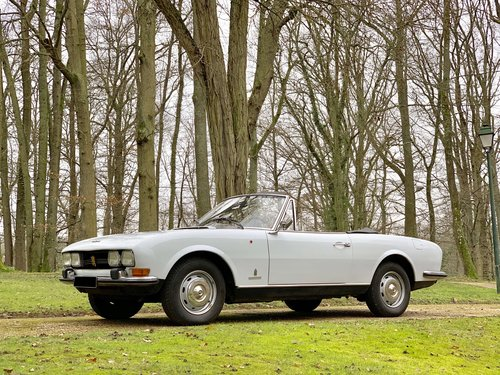 1969 Peugeot 504 Cabriolet No reserve For Sale by Auction (picture 1 of 2)