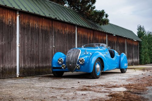 1937 Peugeot 402 DS Darl'Mat Sport roadster For Sale by Auction (picture 1 of 1)