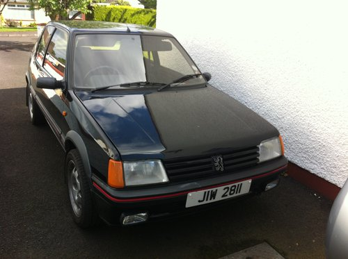 1988 Peugeot  205 gti For Sale (picture 1 of 6)