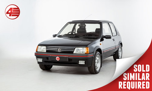 1990 Peugeot 205 GTI /// 2 Former Keepers /// 62k Miles SOLD (picture 1 of 2)