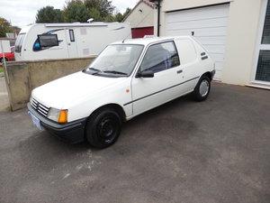 1989 peugeot 205 XRAD van For Sale