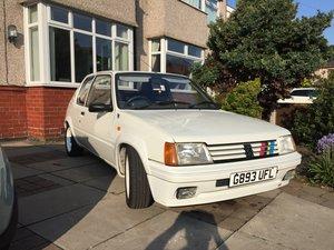 1990 Peugeot 205 Euro Rallye replica.  For Sale