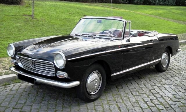 Peugeot 404 Cabriolet Injection - 1965 For Sale (picture 1 of 6)