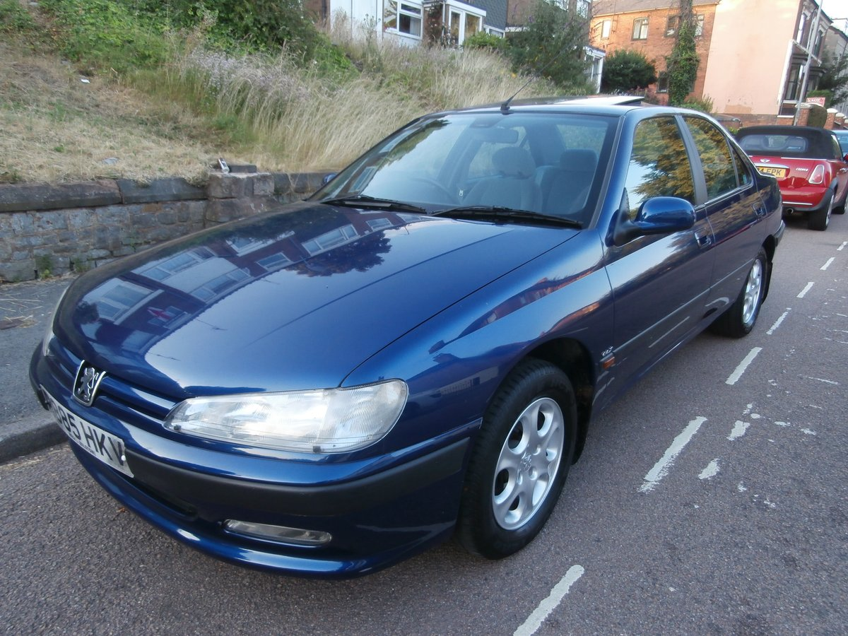 1997 PEUGEOT 406 GLX, ONLY 1 F/KEEPER, JUST 58K FSH For Sale (picture 1 of 6)