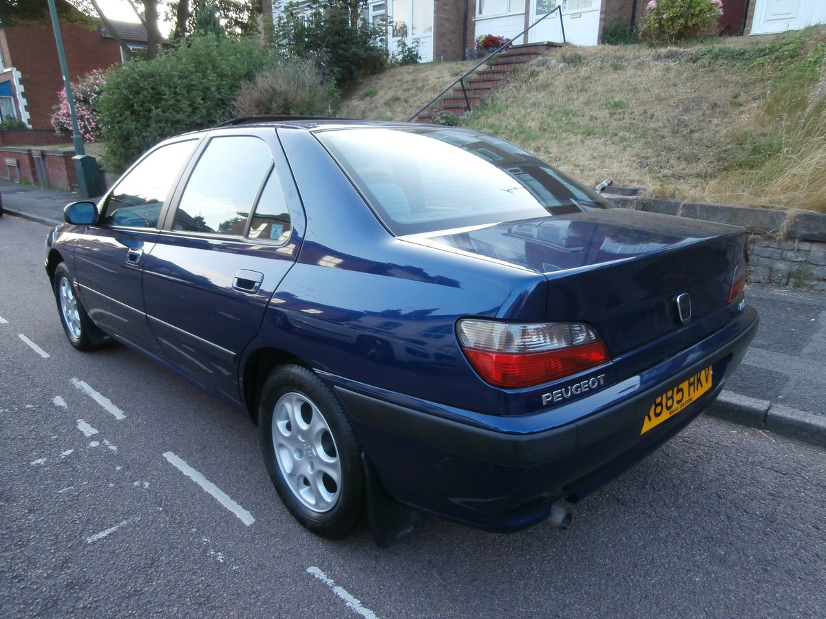 1997 PEUGEOT 406 GLX, ONLY 1 F/KEEPER, JUST 58K FSH For Sale (picture 2 of 6)