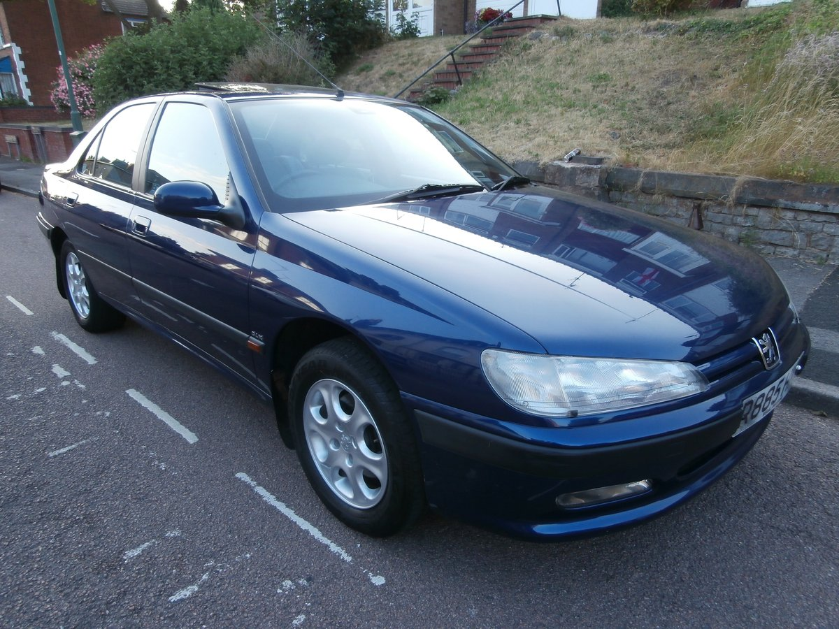1997 PEUGEOT 406 GLX, ONLY 1 F/KEEPER, JUST 58K FSH For Sale (picture 3 of 6)