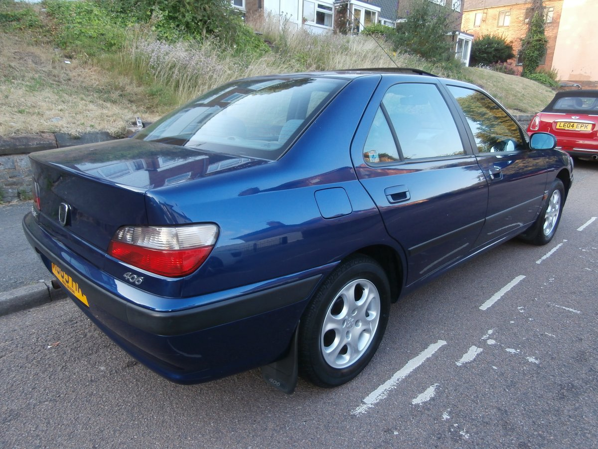 1997 PEUGEOT 406 GLX, ONLY 1 F/KEEPER, JUST 58K FSH For Sale (picture 4 of 6)