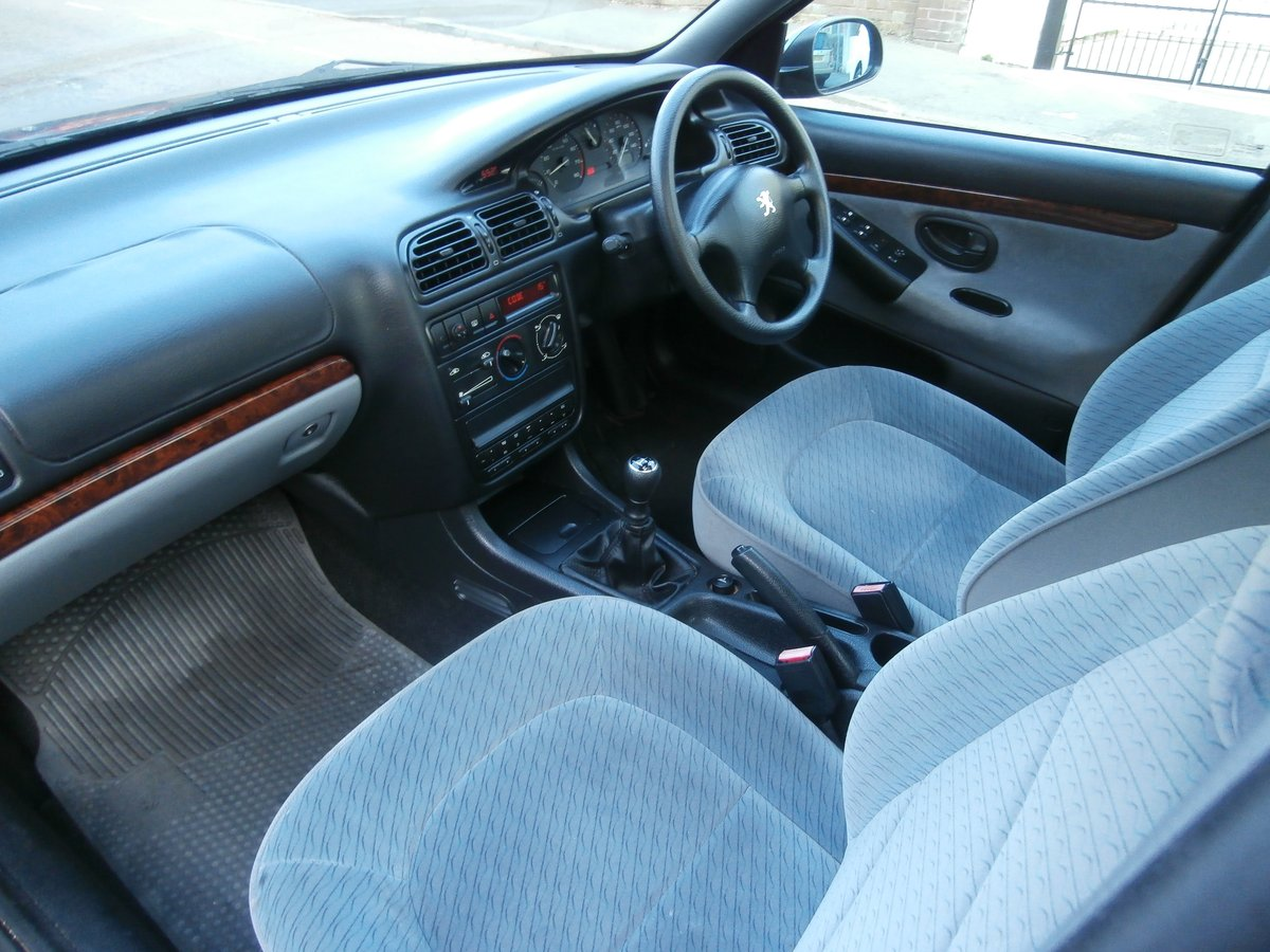 1997 PEUGEOT 406 GLX, ONLY 1 F/KEEPER, JUST 58K FSH For Sale (picture 5 of 6)